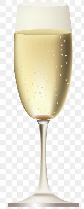 Champagne Glass - White Wine Champagne Sparkling Wine Wine Glass PNG