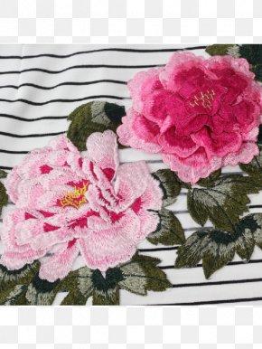 Flower - Cabbage Rose Garden Roses Cheongsam Pink Floral Design PNG