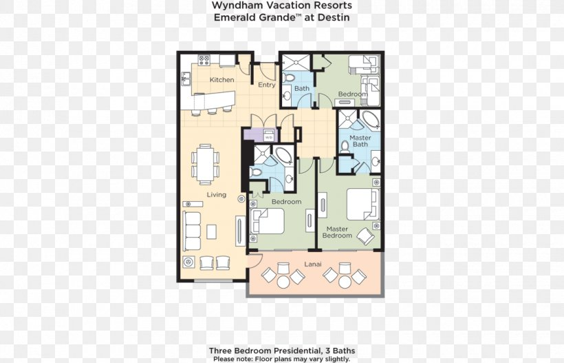 Presidential Suite Floor Plan Emerald Grande At Harborwalk Village Resort Png 1120x720px Presidential Suite Area Beach