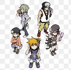 World Ends With You - The World Ends With You Video Game Kingdom Hearts We Heart It PNG