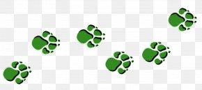 Dog Paw Print Stencil - Bear Tiger Paw Dog Clip Art PNG
