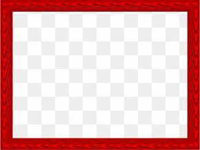 Red Border Frame Photos - Board Game Square Area Red Pattern PNG