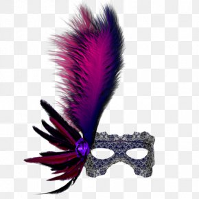 Feathers And Goggles - Mask Blindfold Goggles PNG