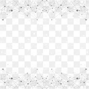 Line Shading - Black And White Point Angle Pattern PNG