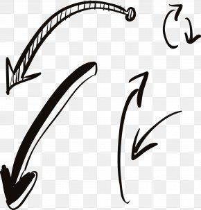 Hand Drawn Arrows - Arrow Icon PNG