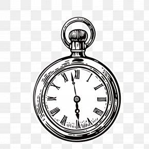 Black Alarm Clock - Pocket Watch Stock Photography Royalty-free Stock Illustration PNG