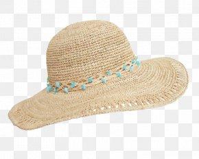 Raffia Hat Transparent Image - Sun Hat PNG