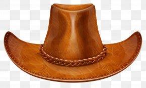 Brown Cowboy Hat Clipart - Cowboy Hat Clip Art PNG