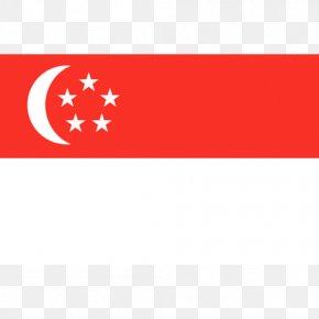 Flag - Flag Of Singapore National Flag Illustration PNG