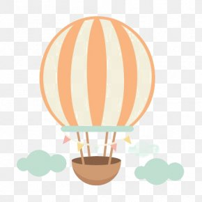 Cartoon Hot Air Balloon - Hot Air Balloon Scrapbooking Clip Art PNG