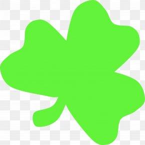 Shamrock - Ireland Light Shamrock Saint Patrick's Day Clip Art PNG