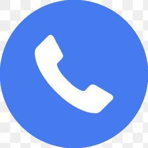 Blue Call Icon - Telephone Call Call-recording Software Mobile App PNG