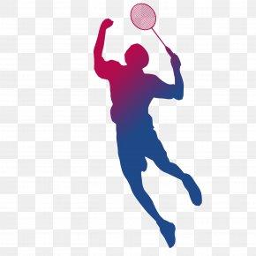 Playing Badminton Silhouette - Badminton BWF World Championships Sport Shuttlecock Racket PNG