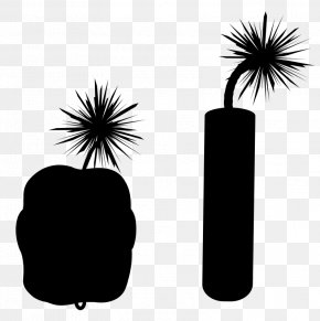 Arecales Palm Tree - Palm Tree Silhouette PNG