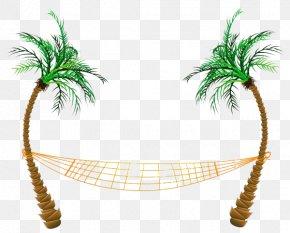 Beach Clipart - Hammock Clip Art PNG
