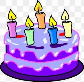 Cartoon Birthday Cake - Birthday Cake Cupcake Clip Art PNG