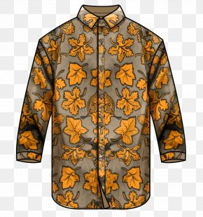 Cartoon Men's Fashion Dress Shirt - Sleeve Clothing Fashion Shirt PNG