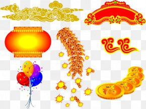 Chinese New Year - Chinese New Year Firecracker Lunar New Year PNG