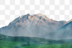 Water Resources Atmospheric Phenomenon - Mountainous Landforms Mountain Nature Natural Landscape Mountain Range PNG