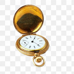 Record Time Pocket Watch - Pocket Watch Clock Stock.xchng Antique PNG