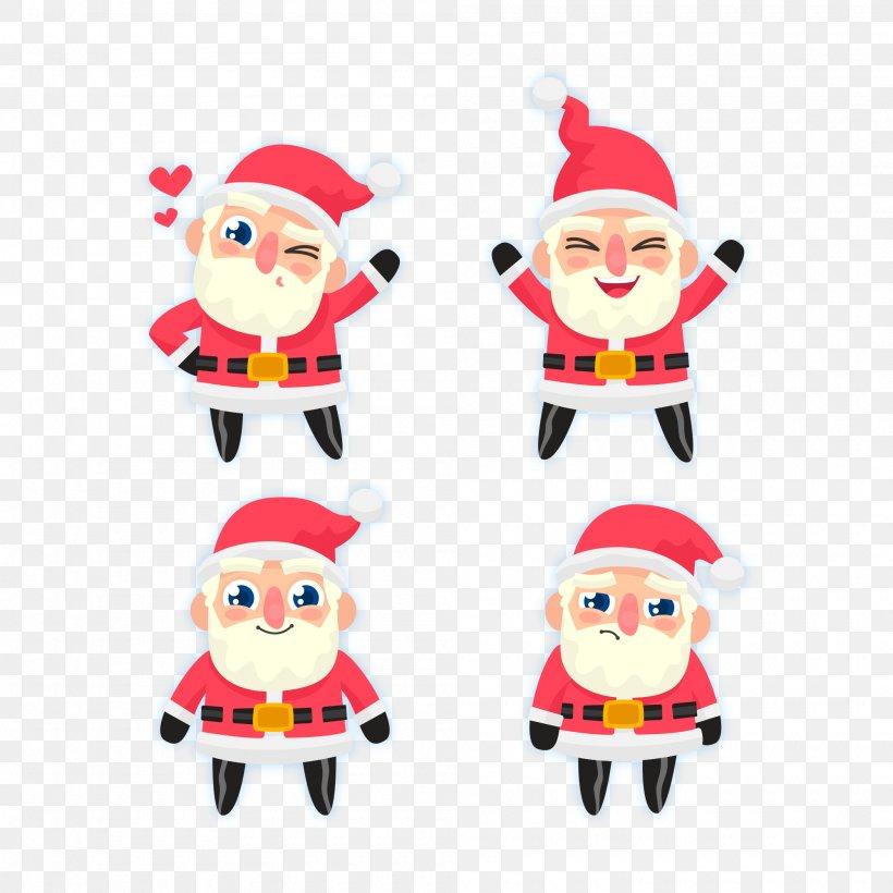 Santa Claus Christmas, PNG, 2000x2000px, Santa Claus, Christmas, Christmas Decoration, Christmas Ornament, Eye Download Free
