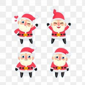 Vector Santa Claus - Santa Claus Christmas PNG
