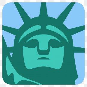 Statue Of Liberty - Statue Of Liberty Emoji Landmark PNG