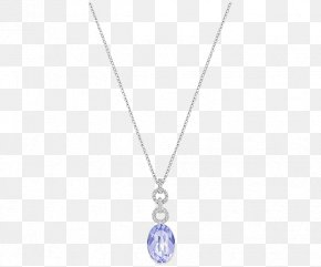 Swarovski Jewelry Women Necklace Purple - Earring Locket Necklace Jewellery Swarovski AG PNG