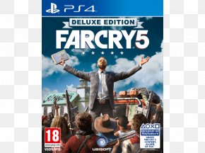 Logo Far Cry 5 - Far Cry 5 Far Cry Primal PlayStation 4 Video Game PNG