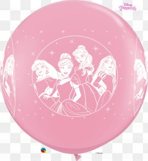 Minnie Mouse - Minnie Mouse Disney Princess Toy Balloon Belle PNG