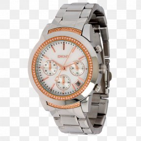 Dkny - Watch Strap Watch Strap Chronograph Movement PNG