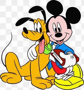 Mickey Mouse - Mickey Mouse Minnie Mouse Pluto Drawing PNG