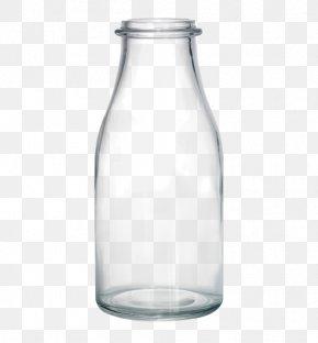 Water Bottle - Glass Bottle Clip Art PNG