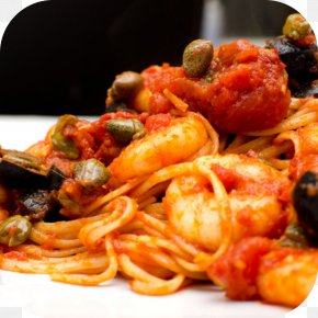 The Feature Of Northern Barbecue - Spaghetti Alla Puttanesca Italian Cuisine Nick's Italian Restaurant North End TerraVino PNG