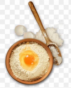 Eggs, Flour - Baking Flour Fried Egg Ingredient PNG