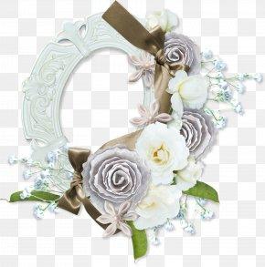 White Roses - Flower Picture Frames Floral Design Clip Art PNG