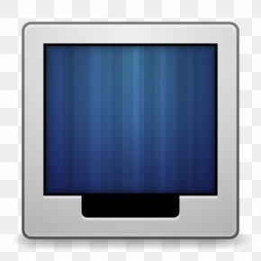Apps Preferences Desktop Wallpaper - Blue Computer Monitor Flat Panel Display Media PNG