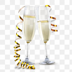 Champagne Glasses - Champagne Glass Sparkling Wine PNG