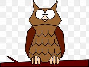 Owl - Great Horned Owl Bird Eastern Screech Owl Clip Art PNG