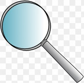 Cartoon Magnifying Glass - Magnifying Glass Free Content Clip Art PNG