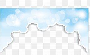 Clouds Border - Sky Cloud PNG
