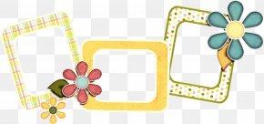 Picture Frame Infant - Flower Background Frame PNG