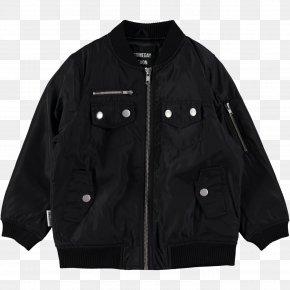 Black Jacket - Jacket Outerwear Sleeve Black M PNG