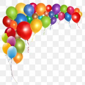 Party Decor Cliparts - Birthday Balloon Party Clip Art PNG