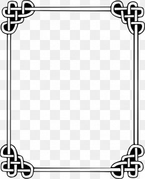 Celtic Border Cliparts - Borders And Frames Celtic Knot Celts Clip Art PNG