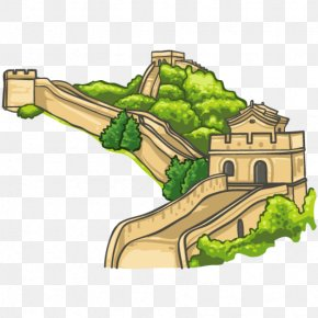 Great Wall Of China - Great Wall Of China New7Wonders Of The World Mutianyu Clip Art PNG