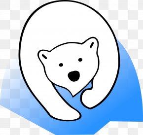 Polar Bear - Polar Bear Giant Panda Clip Art PNG