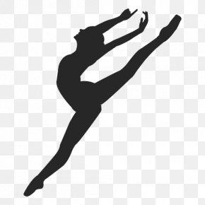 Dance - Ballet Dancer Silhouette Clip Art PNG