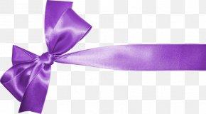 Purple Ribbon - Violet Purple PNG