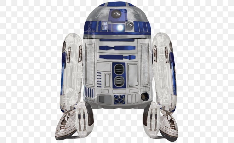 R2-D2 Star Wars R2D2 Airwalker Balloon Stormtrooper Star Wars R2D2 Airwalker Balloon, PNG, 500x500px, R2d2, Anakin Skywalker, Balloon, Foil Balloon, Machine Download Free